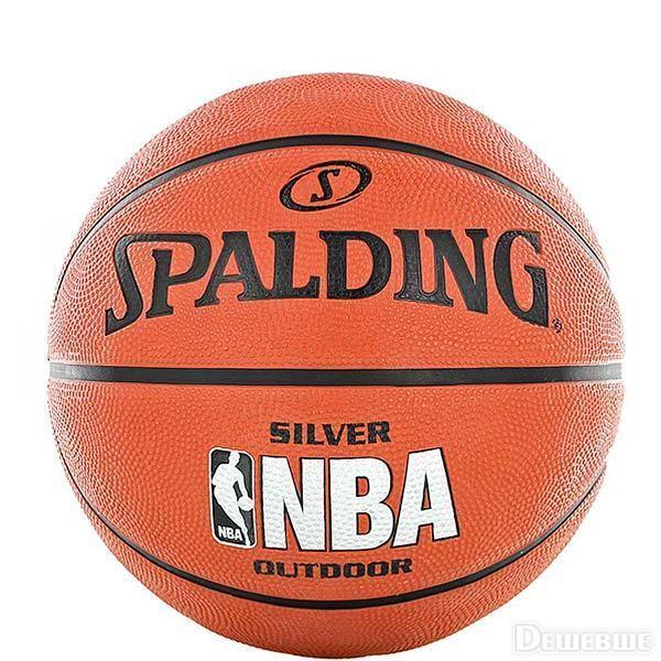 Баскетбольний м'яч Spalding NBA Silver