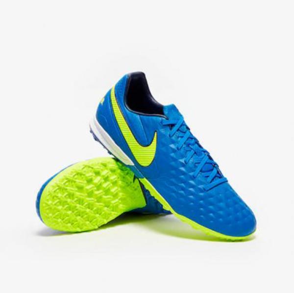 Сороконіжки Nike Tiempo Legend VIII Pro TF (шкіра) AT6136-474