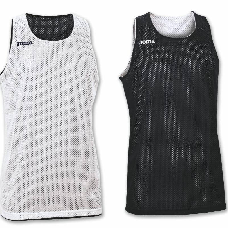 Майка баскетбольна чорно-біла Joma ARO 100050.100